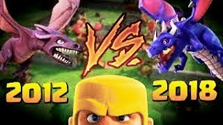 First Day Starting Clash of Clans in 2012 Vs 2018 - Old CoC Vs New CoC - What Has Changed