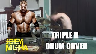 triple h theme song drum cover joey muha