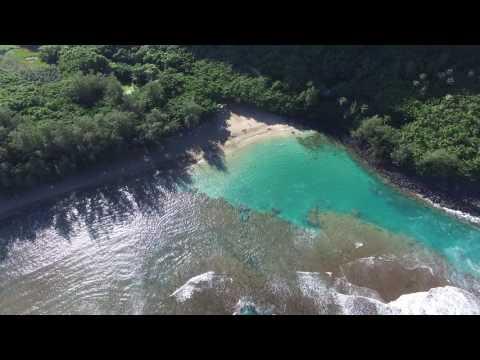 Ke'e Beach Drone Part 1