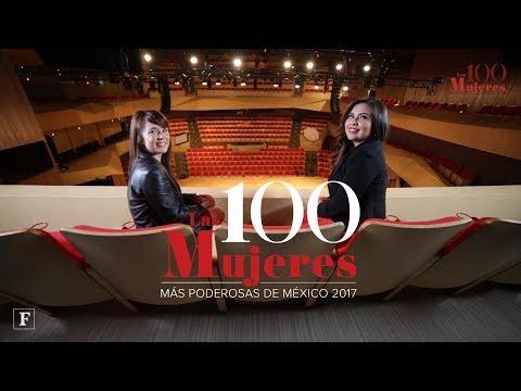 Mujeres Poderosas Forbes 2017. Leticia Jáuregui y Carmen Félix