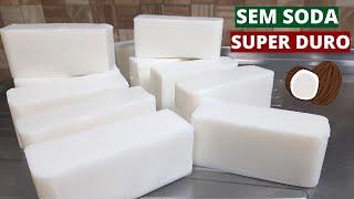 Sabão de Coco em Barras Super Duro – Deixe Suas Roupas Brancas e Cheirosas