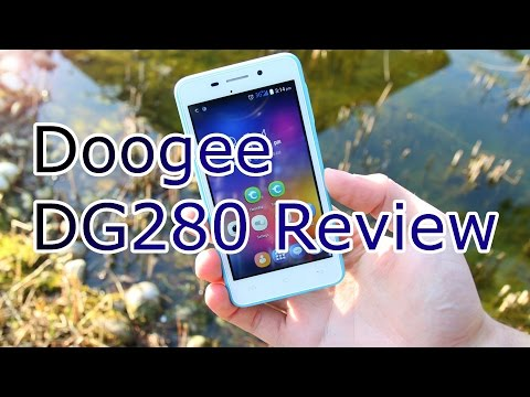 Cheapest China Phone ! - MTK 6582 Quadcore - Doogee DG280 Full Review [HD]