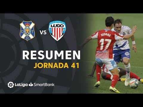 Tenerife Lugo Goals And Highlights