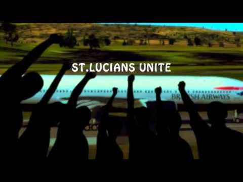 St.Lucians  Unite by  Sandra Lorde      digital remake by jiggymaxx  2013
