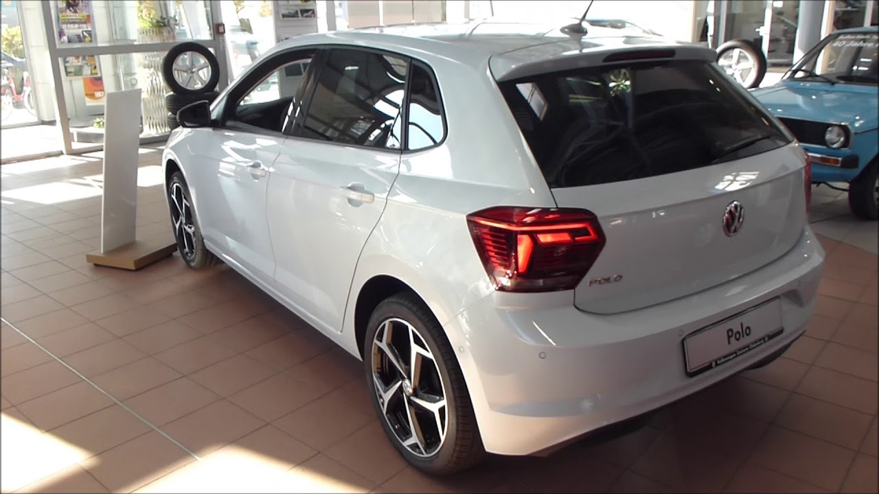 2018 vw polo 6 exterior interior 1 0 tsi 115 hp 187 km h 116 mph see also playlist. Black Bedroom Furniture Sets. Home Design Ideas
