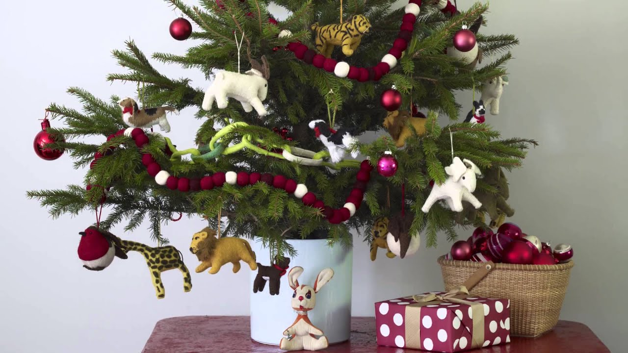 3 Easy Christmas Tree Themes Real Simple Youtube