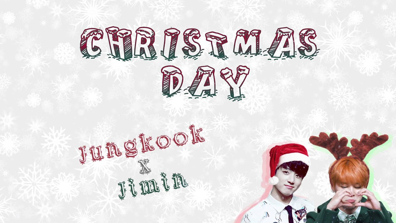 MERRY X-MAS⌋ Jimin x Jungkook – Christmas Day [Color coded Han ...