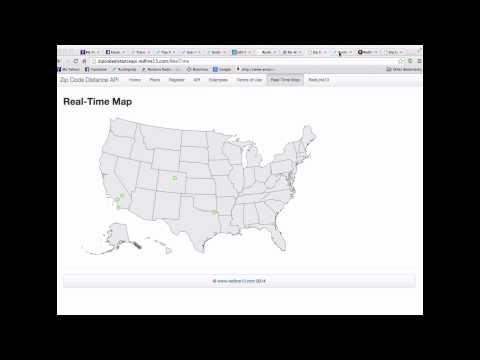 Real Time Map API