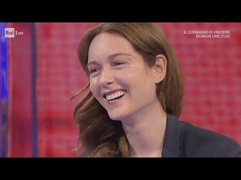 Cristiana Capotondi e Alessio Boni - Dopo Fiction 06/04/2017