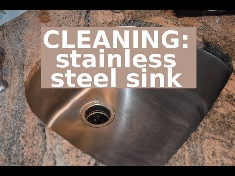 The BEST Way to Clean a Stainless Steel Sink: Three Easy Steps | Clean With Me