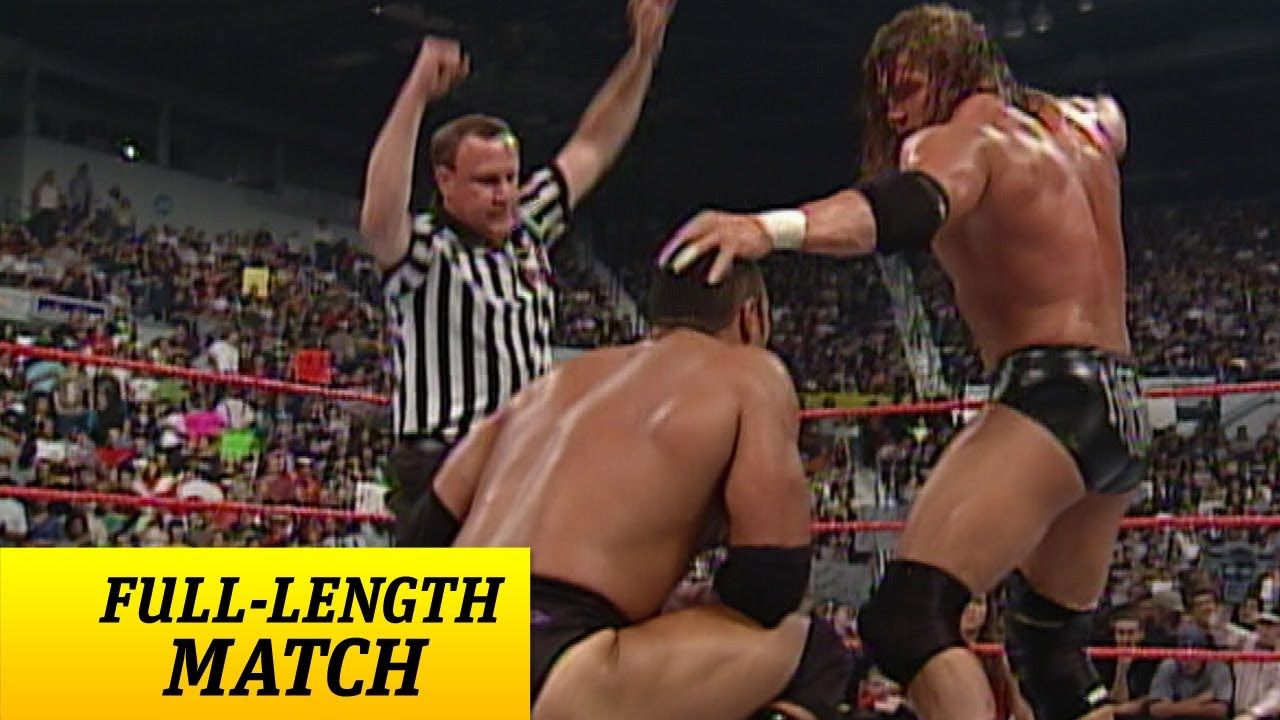 Download FULL-LENGTH MATCH - Raw - Triple H vs. The Rock - WWE Championship Match