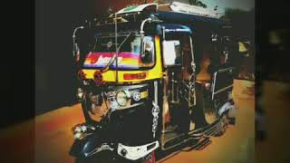 Modified auto rickshaw