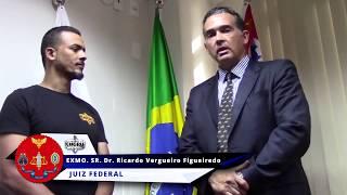 Exmo Juiz Federal Sr.Dr. Ricardo Vergueiro Figueiredo falando sobre o KMGRU