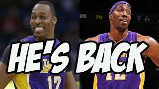 Dwight Howard Is On The Lakers Again - 2020 NBA Season