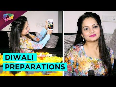 Giaa Manek does Diwali preparations