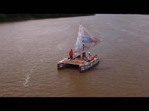 WEEK ONE ON THE MISSISSIPPI RIVER - Recycled Mississippi #14
