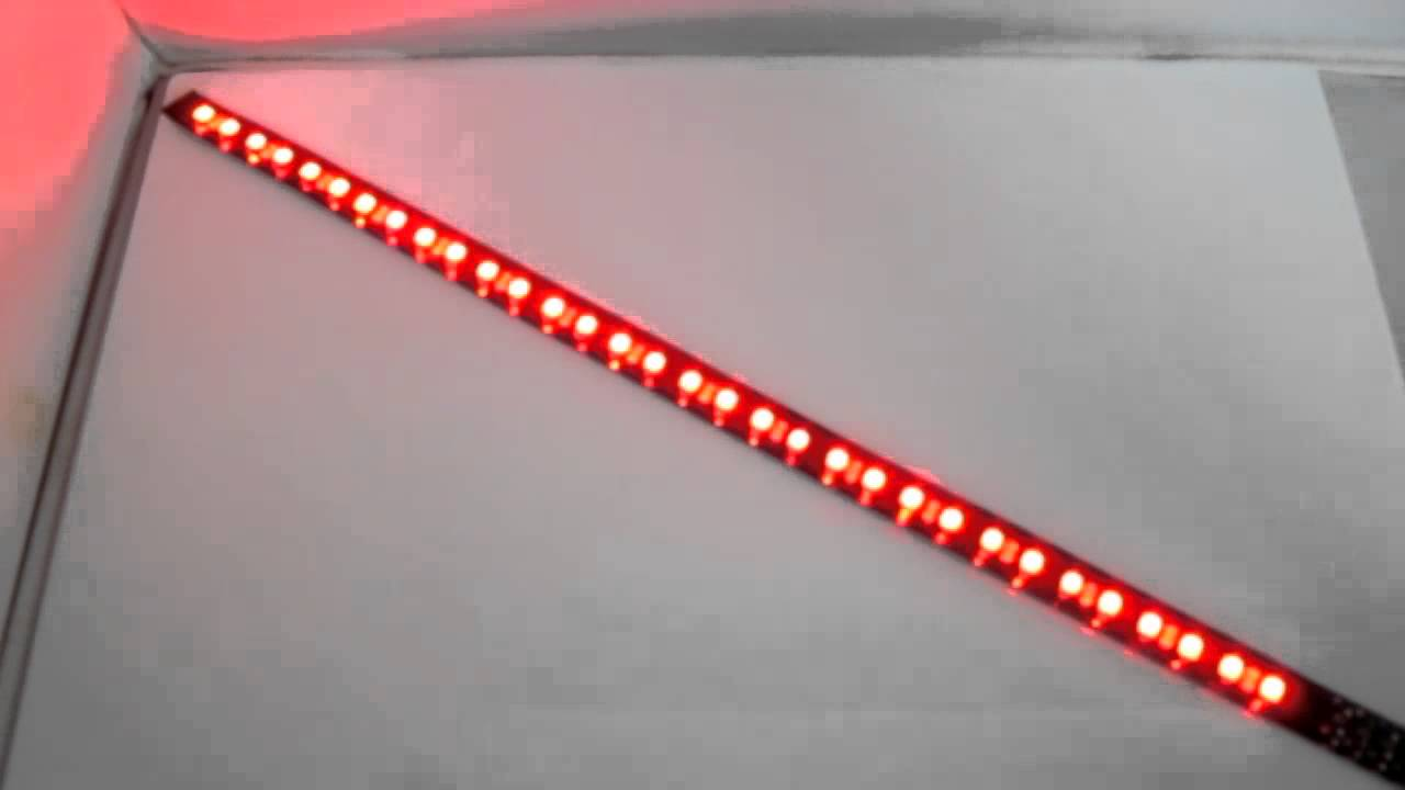 12 miniature led knight rider scanner strip red youtube 12 miniature led knight rider scanner strip red aloadofball Image collections