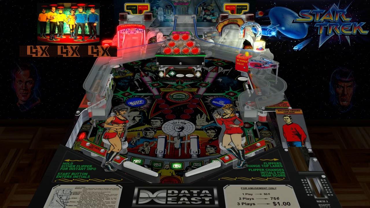 Star Trek 25th Anniversary Pinball VPX