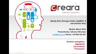 Energy Management and Energy Savings in Small and Medium-sized Hotels