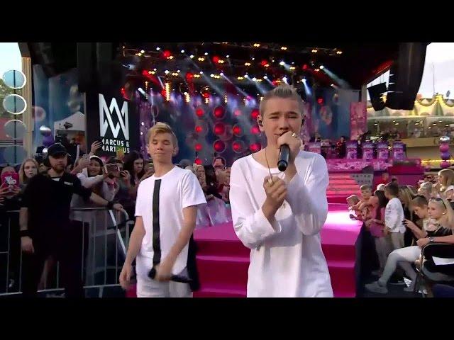 PREMIÄR: Marcus & Martinus - First kiss  - Sommarkrysset (TV4)