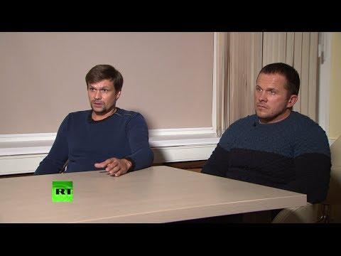 Без монтажа: исходник интервью Маргариты Симоньян с «подозреваемыми» в отравлении Скрипалей