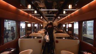 "2018/01/21 JR東日本 レストラン列車 走るカフェ「フルーティアふくしま」(仙台駅~郡山駅) Japanese train ""FruiTea Fukushima"""