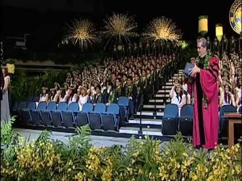 2010 Punahou School Commencement Ceremony (June 5, 2010)