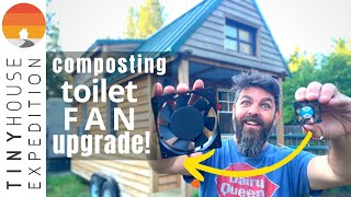 Tiny House Composting Toilet: Nature's Head Diy Fan Upgrade