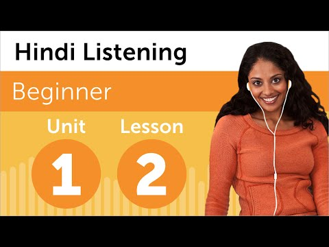 Hindi Listening Practice - Rearranging the Office in India