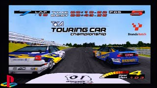 TOCA Touring Car Championship (1997) | Honda Accord | Brands Hatch Indy | PlayStation/PS1/PSX HD