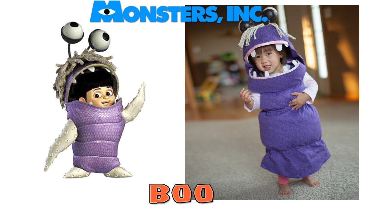 Disney Monster Inc Characters In Real Life Youtube