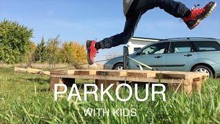 Parkour with kids | Parkour mit Kindern