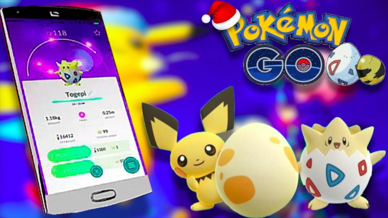 Pokémon GO Christmas Event & Gen 2 BABY Pokémon! - YouTube