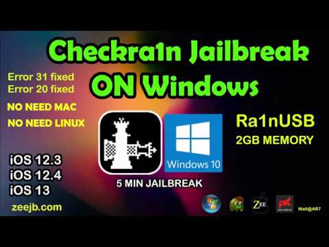ra1nUSB Tool Checkra1n Jailbreak Windows - ra1nusb for windows jailbreak tool checkra1n ios13