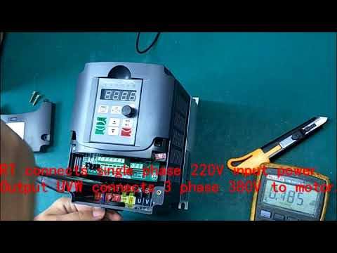 1 phase 220v to 3 phase 380v 5 5kw VFD/inverter transformer