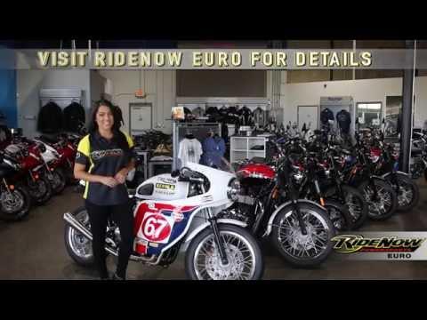 Custom Slippery Sam Triumph Thruxton | RideNow Euro