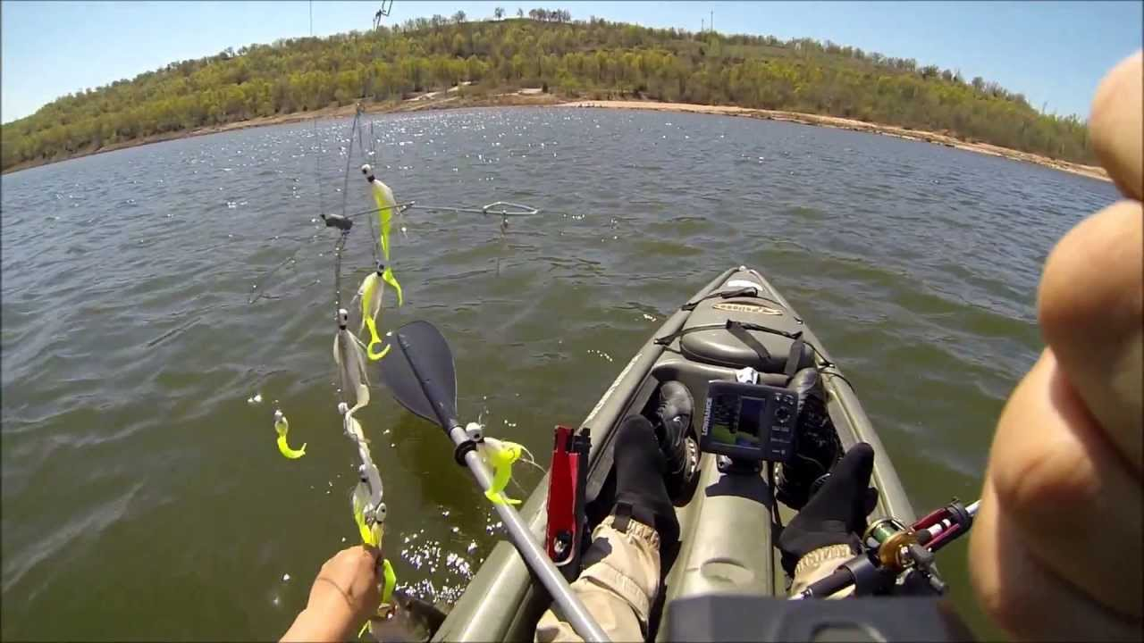 Kayak fishing for striper umbrella rig 247 outdoor for Best striper fishing spot in ri