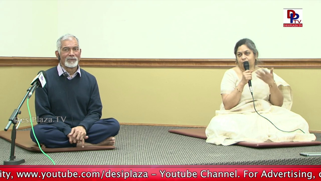Visuals from the event of Yoga by Dr. Nagendra and Dr. Prema Mysore || Ayurvedic Doctors || DPTV