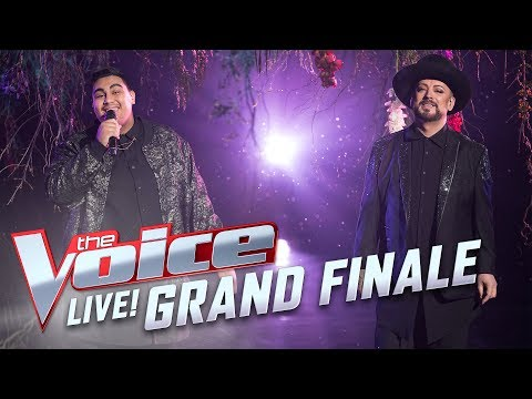 Boy George & Hoseah Partsch- 'What a Wonderful World' | The Voice Australia 2017