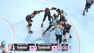 D2 Game 1: Brandywine Roller Derby v Charlottesville Derby Dames