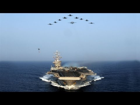 Смотреть Может ли флот России, потопить авианосец США ? онлайн