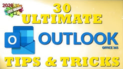 30 Ultimate Outlook Tips and Tricks for 2020