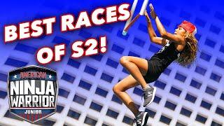 The BEST Races Of Season 2 | American Ninja Warrior Junior | Universal Kids