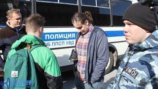 Митинг на Тверской: попытка задержания за кроссовки 26 марта 2017 года #Навальный