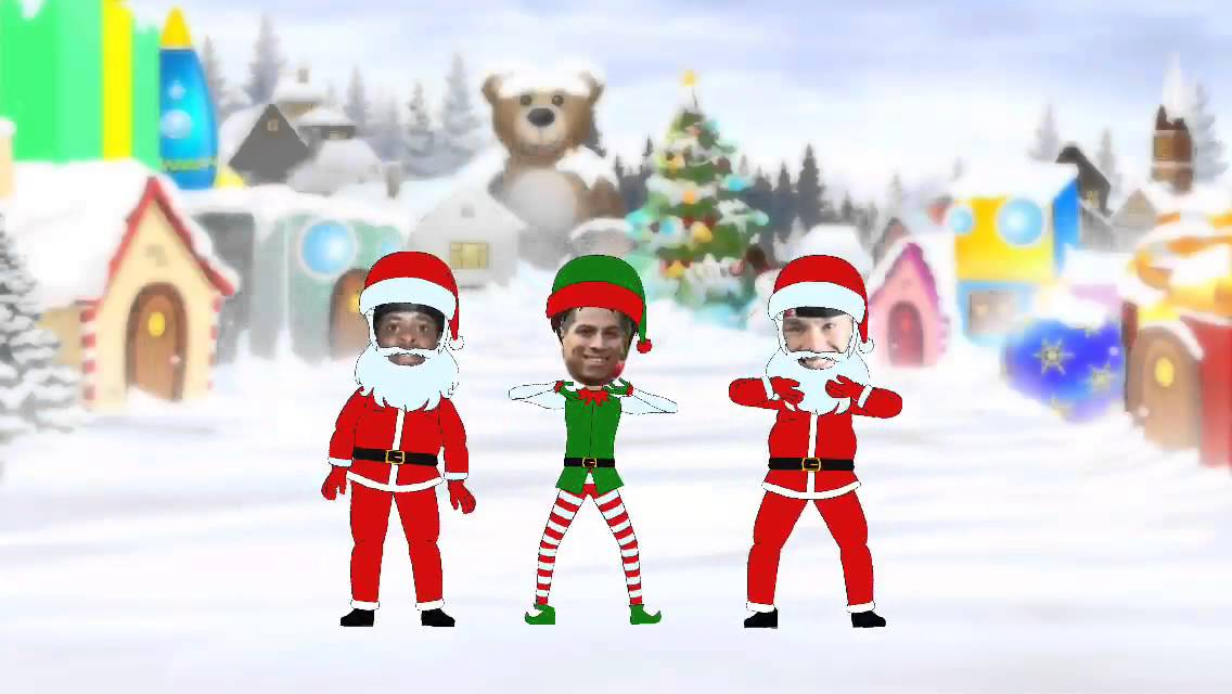 animate me christmas dance video maker soul street xmas