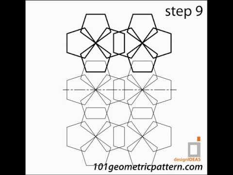 How To Create Geometric Pattern : Tutorial pattern 1