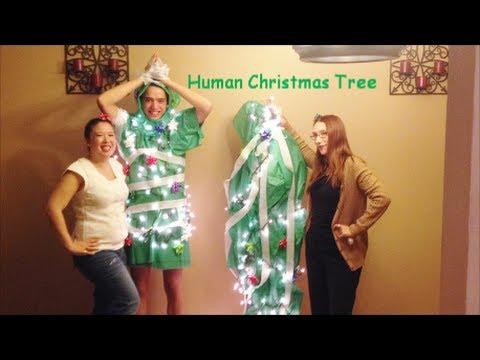 - Human Christmas Tree AntipodeAntics - YouTube
