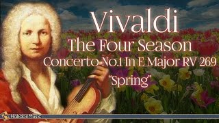 Vivaldi Spring  The Four Seasons Classical Music for Relaxation with Beautiful Pictures of Nature