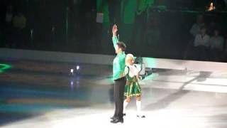 Dancing on Ice 2011 - Nottingham - Sam and Brianne - Riverdance.MOV