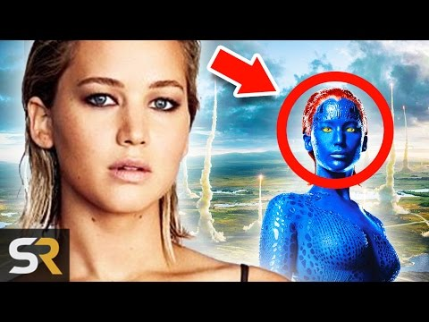 10 Amazing Movie Makeup Transformations You Won't Believe